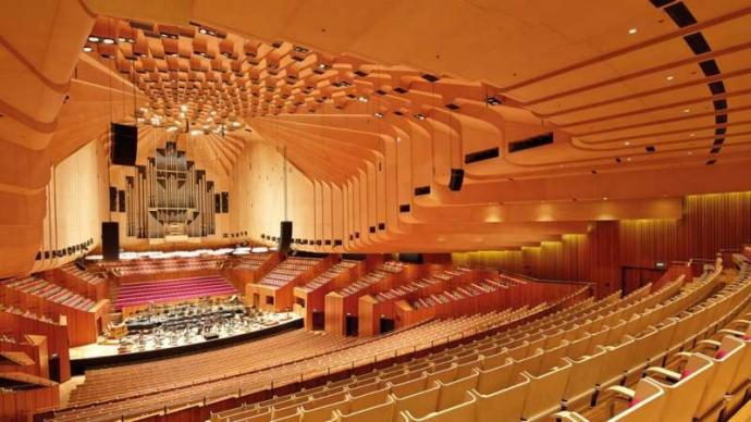 Concert Hall:全歌剧院最大的房间,拥有2,679个座位。在这里除了演奏各种古典、现代的音乐之外也可以在里面进行歌剧与舞蹈表演。音乐厅内有一个巨大的管风琴,是全世界最大的机械木连管风琴。