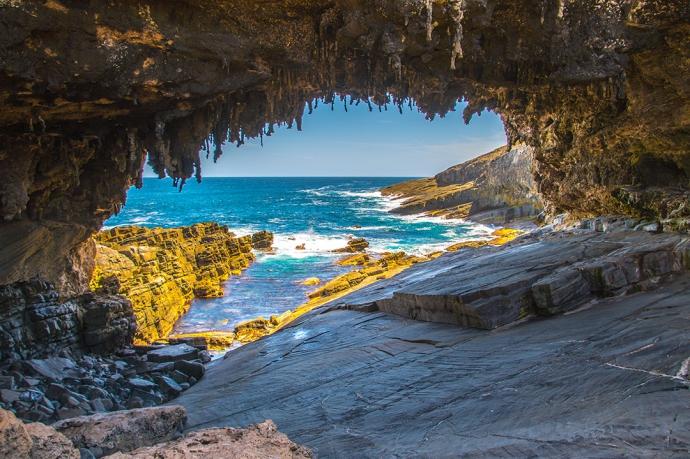 弗林德斯蔡司国家公园初建于1919年,占地326.61平方公里,几乎占了整个袋鼠岛的近十分之一,是袋鼠岛上六个国家公园中最大的也是最重要,知名度最高的一个。