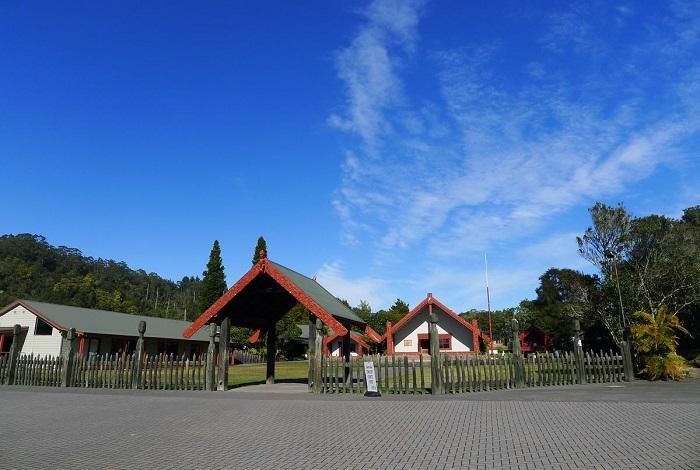 罗托鲁瓦市是毛利族历史文化荟萃之地,毛利族历史源远流长,其别具一格的文化工艺,值得游人在此慢慢品味。毛利族人擅长用地热烧煮食物,游客在罗托鲁瓦可品尝到地道的石头火锅,石头火锅即把经地热烘烫的薄薄石块放进地洞内,再把食物烩熟,风味的独特。