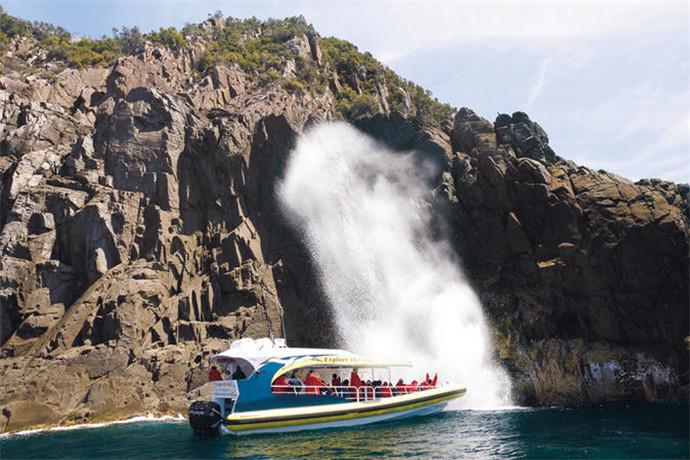 澳大利亚塔斯马尼亚布鲁尼岛一日游-布鲁尼岛,双月湾,生蚝农庄,乳酪农场,蜂蜜农场