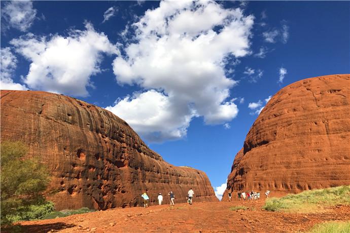 卡塔丘塔国家公园凭借自然和文化价值被联合国教科文组织评定为世界遗产区。对于在这里居住了超过 22,000 年的 Anangu 人来说,卡塔丘塔是神圣的。