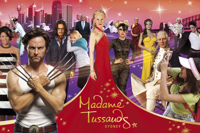 悉尼杜莎夫人蜡像馆( Madame Tussauds Sydney)