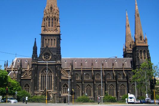 墨尔本圣派翠克大教堂 (St Patrick's Cathedral)