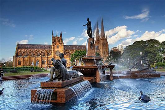 悉尼海德公园 (Hyde Park)