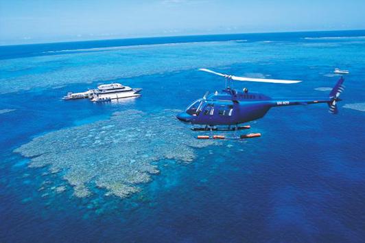 阿金考特大堡礁(银梭号)游船往返