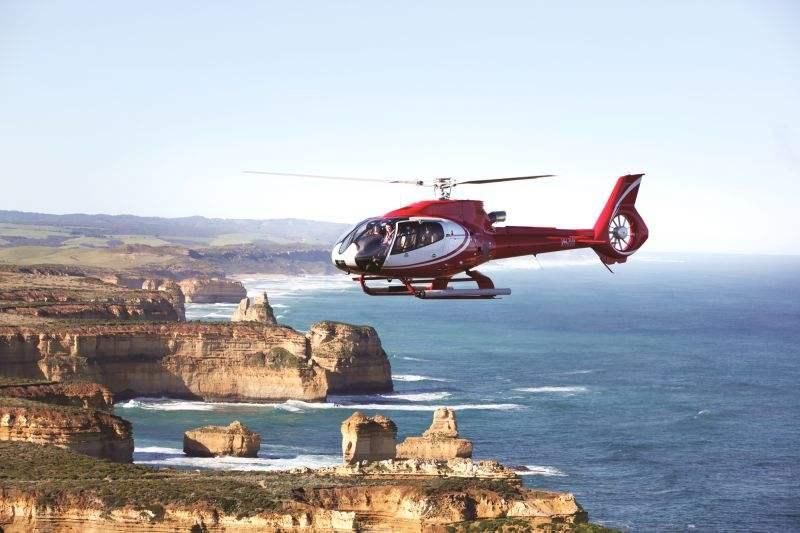 墨尔本十二门徒岩直升机观光 (12 Apostles Helicopters)