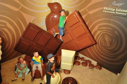 墨尔本菲利普岛巧克力工厂 (Phillip Island Choclate Factory)
