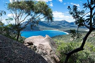 澳大利亚塔斯马尼亚摇篮山包车一日游-摇篮山,多芬湖面,谢菲尔镇