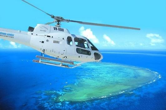 大堡礁鱼鹰五号潜水+直升机外堡礁一日游(鱼鹰号)