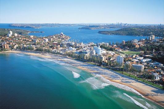 悉尼曼利海滩( Manly Beach)