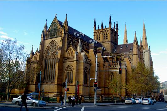 悉尼圣玛丽大教堂 (St Marys Cathedral)