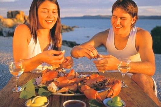 黄金海岸Hanlan's海鲜自助晚餐
