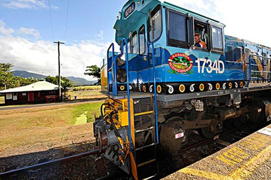 凯恩斯库兰达热带雨林观光火车单程( kuranda Scenic Railway)