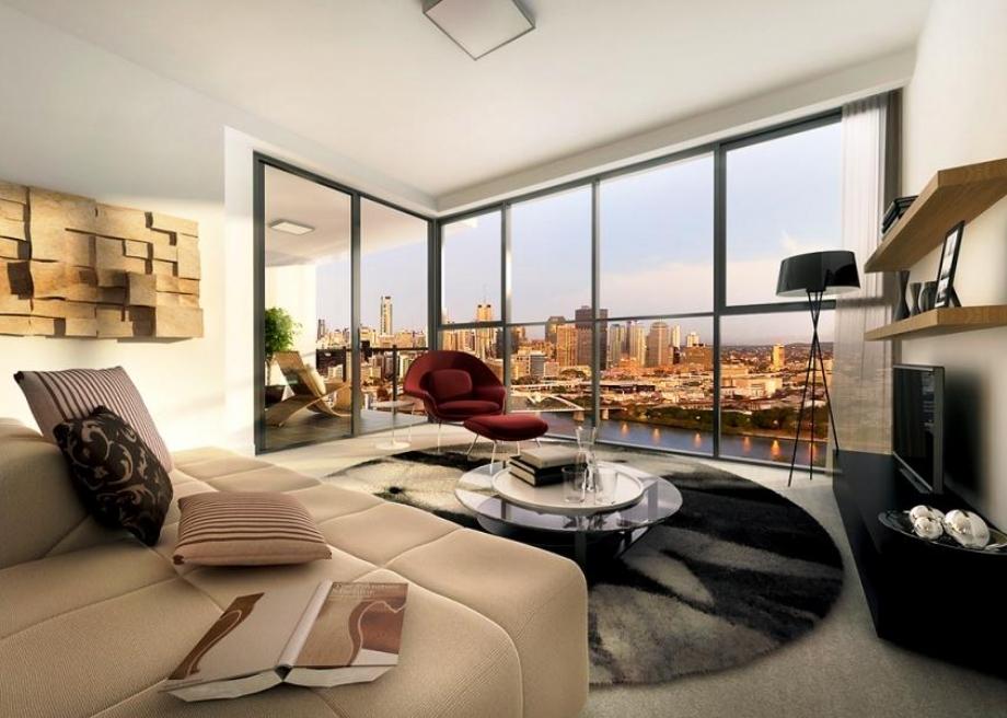 The Milton布里斯班高端水景公寓