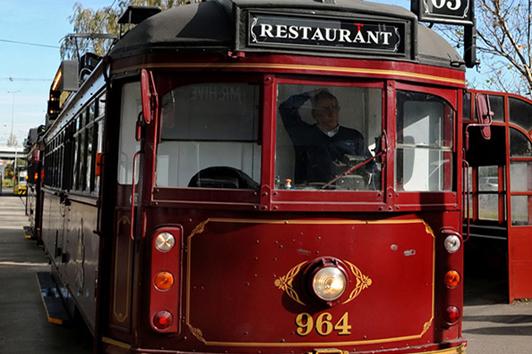 墨尔本电车餐厅