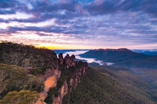 悉尼旅游,悉尼蓝山一日自助游-蓝山山脉,蓝山三姐妹峰,珍罗兰钟乳石洞