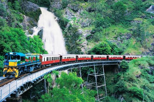 凯恩斯库兰达热带雨林套票 缆车单程+火车单程(Gondola and Train)
