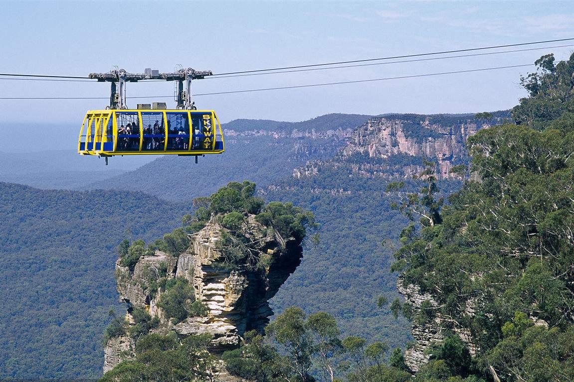 悉尼蓝山缆车