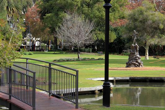 珀斯皇后公园(Queens Gardens)