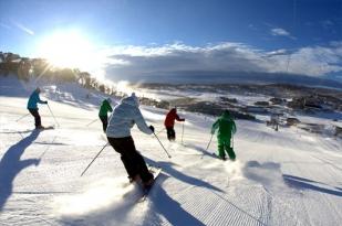 澳大利亚墨尔本一日游-墨尔本自由行,布勒山滑雪体验,滑雪课程,博士山,威菲利