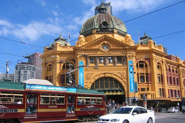 墨尔本Flinders Street火车站