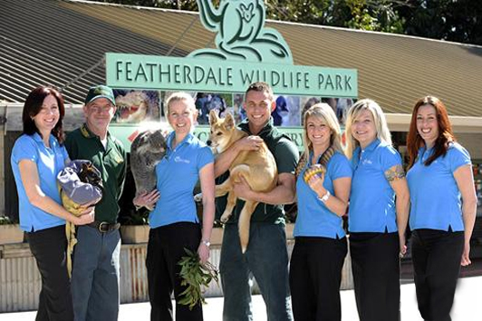 悉尼费瑟戴尔野生动物公园(Featherdale Wildlife Park)